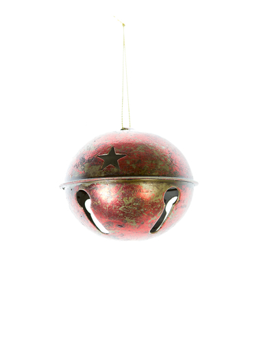 """Picture of 3""""RUSTIC JINGLE BELL"""