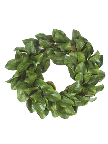 "Picture of 28"" MAGNOLIA LEAVES WREATH"
