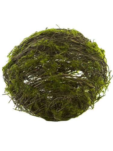 "Picture of 7.5"" TWIG BALL W/MOSS"