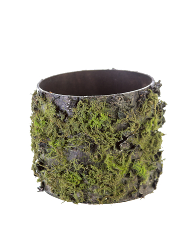 """Picture of 4.5"""" LOG W/MOSS POT"""