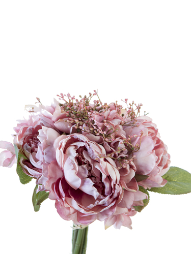 """Picture of 11"""" PEONY,ROSE MIX BUNDLE"""