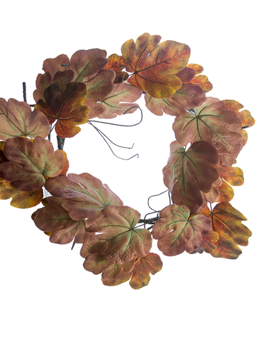 "Picture of 28"" FIG LEAF WREATH"