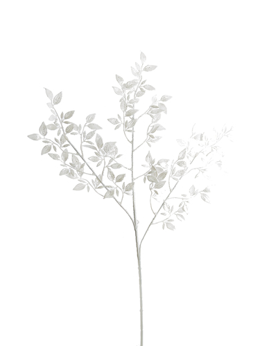 """Picture of 28"""" GLITTER LEAF SPRAY"""