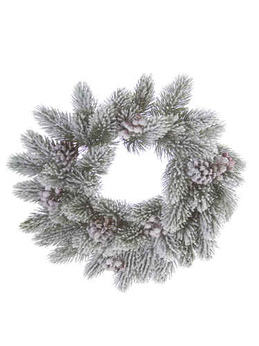 """Picture of 15""""FLOCKED FOXTAIL PINE C RING"""