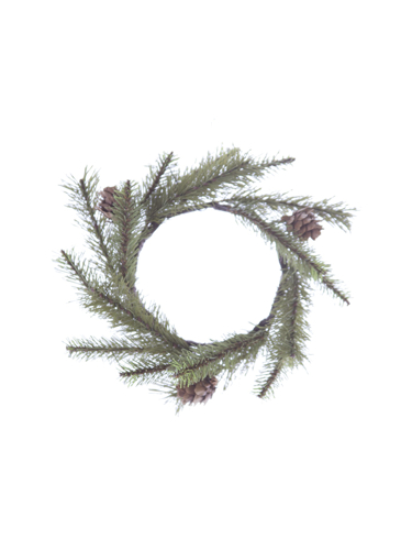 "Picture of 8"" EMPIRE PINE C RING W/CONES"