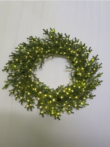 """Picture of 24"""" BLACK SPRUCE WREATH"""