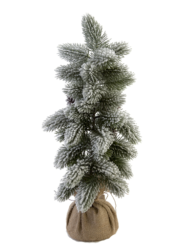 """Picture of 23"""" FLOCKED FOXTAIL PINE TREE"""