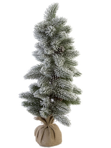 """Picture of 28""""FLOCKED FOXTAIL PINE TREE"""