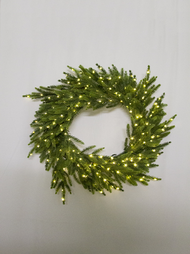 "Picture of 24""ORIENTAL SPRUCE WREATH"