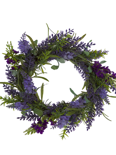 """Picture of 10"""" LAVENDER VERONICA RING"""