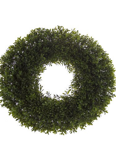 """Picture of 20"""" BOXWOOD  WREATH"""
