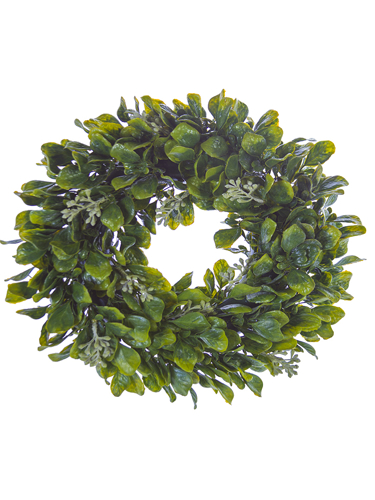 """Picture of 12"""" SPRING LVS W/BERRY WREATH"""