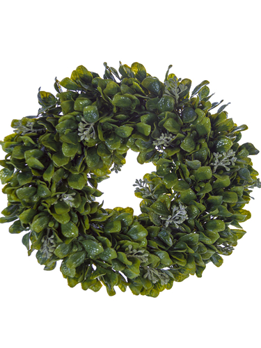 "Picture of 14"" SPRING LVS W/BERRY WREATH"