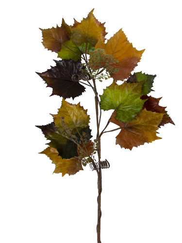 "Picture of 46"" GRAPE LEAF BRANCH"
