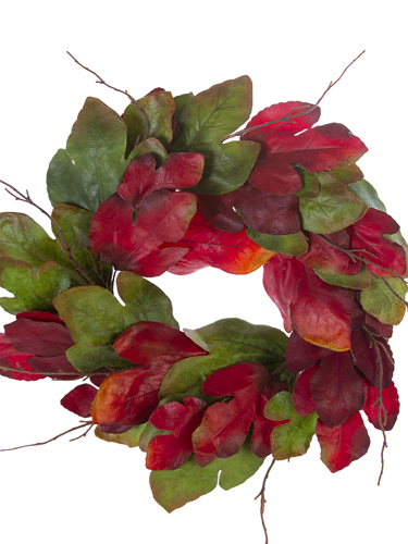 "Picture of 23"" FIG LVS WREATH"