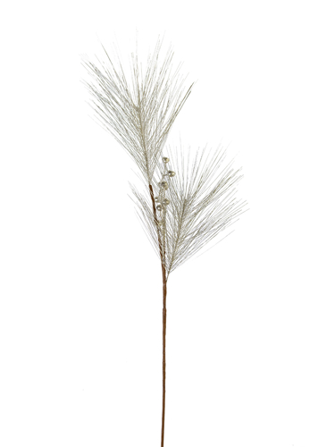 """Picture of 33"""" SHINY PINE W/BERRY SPRAY"""