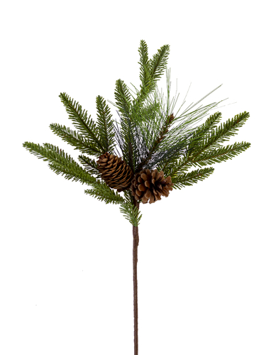 "Picture of 25"" FIR MIX W/CONES SPRAY"