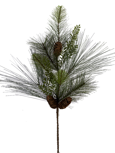"Picture of 30"" MIX PINE W/CONE SPRAY X 8"