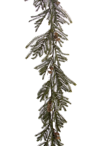 "Picture of 65"" SPRUCE GARLAND W/CONES"