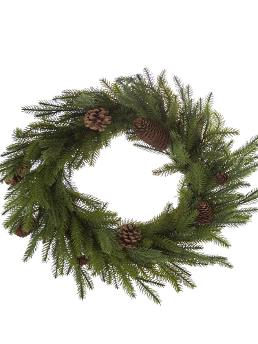 "Picture of 18"" MOUNTAIN PINE WREATH"