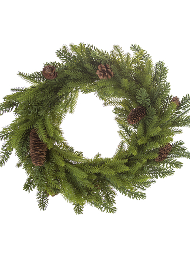 "Picture of 18.5"" DOUGLAS FIR MIX WREATH"