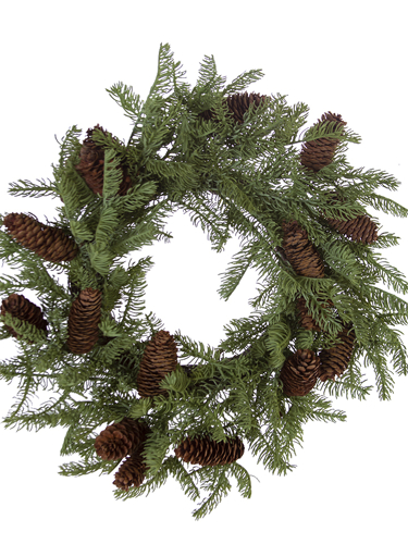 """Picture of 22"""" SPRUCE WREATH"""