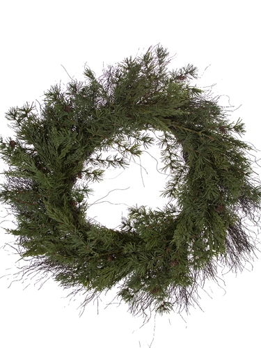 """Picture of 26"""" MOUNTAIN FIR WREATH"""