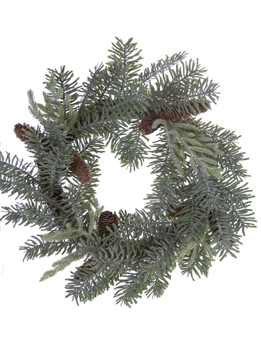 "Picture of 18"" SITKA/BALD CYPRESS WREATH"