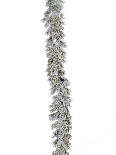 Picture of 6' FLOCKED SPRUCE GARLAND