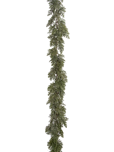 Picture of 6' FROSTED CYPRESS GARLAND