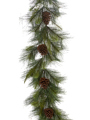 Picture of 6' ROUND PINE GARLAND