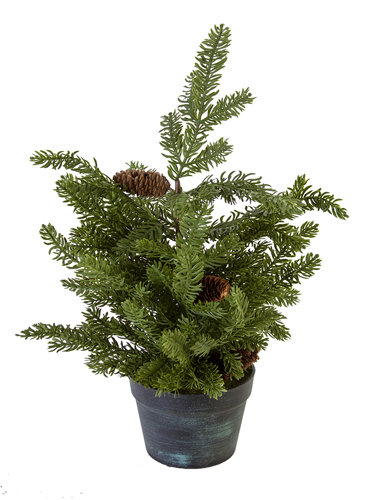 "Picture of 24"" SITKA  PINE TREE W/CONES"
