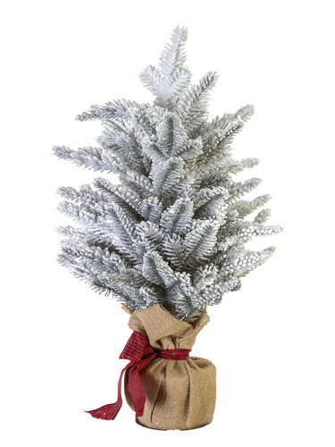 "Picture of 22"" FLOCKED SPRUCE TREE"