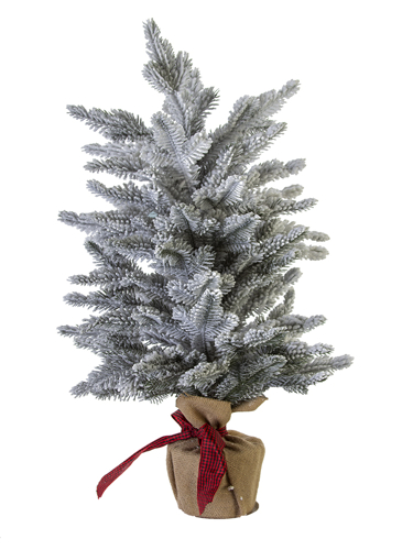 "Picture of 27"" FLOCKED SPRUCE TREE"